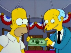 The Simpsons 09x20 : The Trouble with Trillions- Seriesaddict
